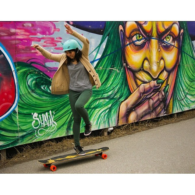 Beauty and the beast @cindyzskates ・・・