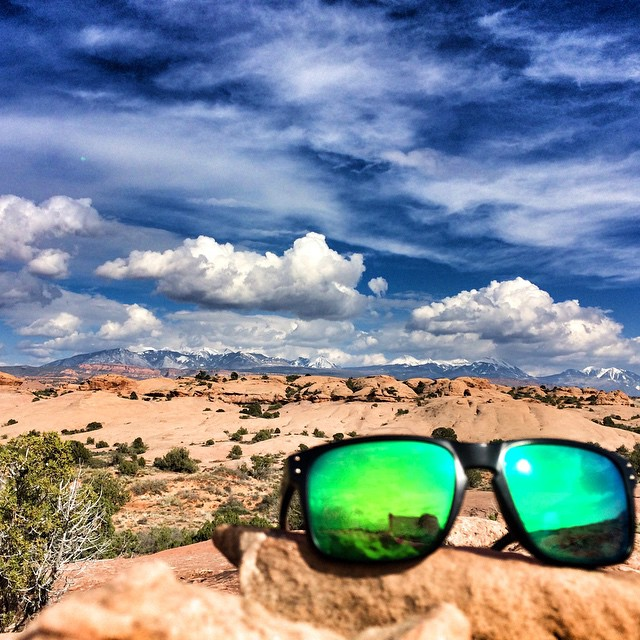 Loving my new sunnies from @Oakley and my new lenses from @revantoptics. They make life just that much cooler! #neverstopexploring #potd
