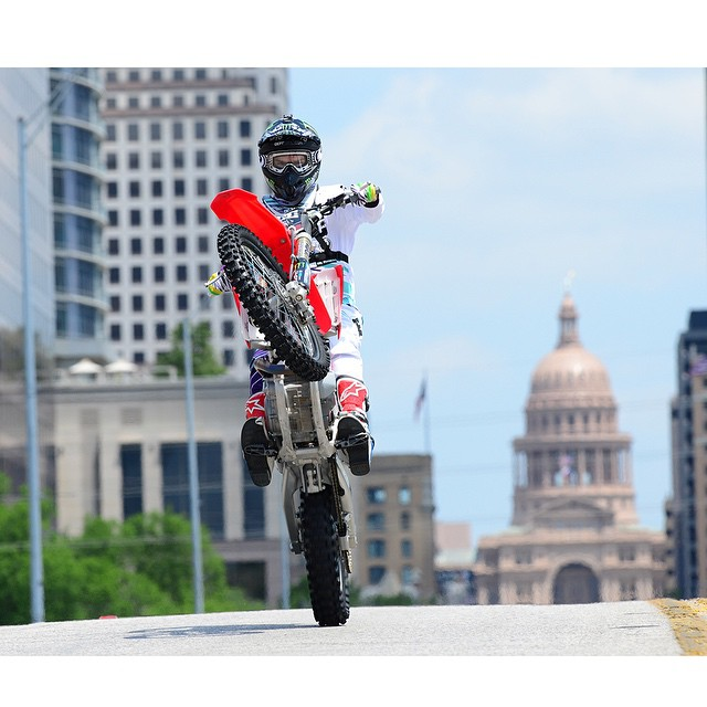 #XGames Austin will kick off with Moto X Step Up on Congress Ave., in front of the Texas State Capitol building on June 4!  The competition is free and open to the public. But, reserved tickets are available for the best possible view.