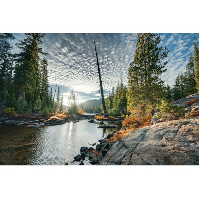 It's hard to complain when Five Lakes is less than three miles from our office.  Photo snapped by Dustin at @ethereal_sceneries. _ #tahoemade #itswayoutthere