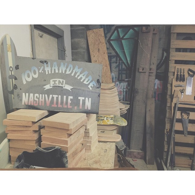 Made in Nashville. #handmade #HandmadeSkateboards #MadeInAmerica #nashville