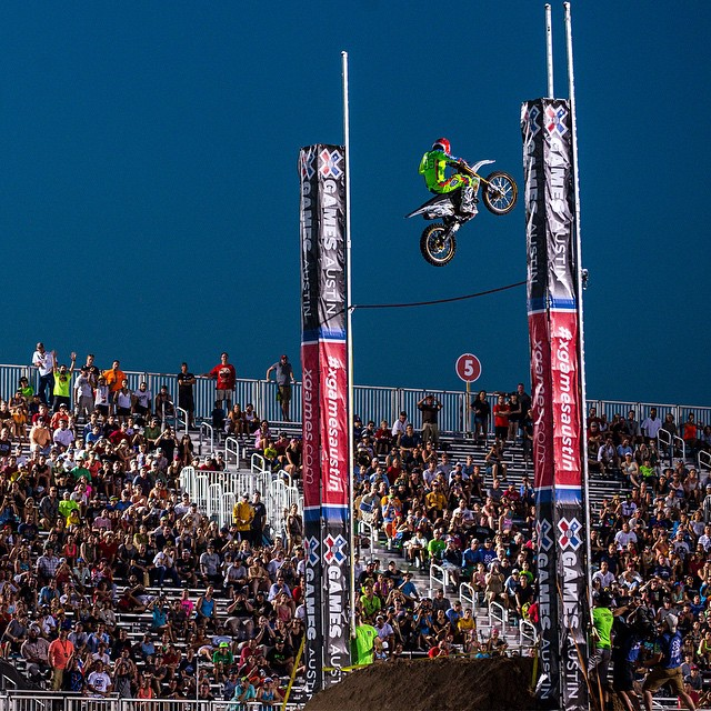 Defending silver medalist @bhud96 has confirmed that he will compete in Moto X Step Up at #XGames Austin this June. (