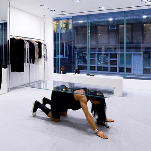 Rick Owens freestanding store in Hong Kong via @highsnobiety #whiteonwhite #luxliving
