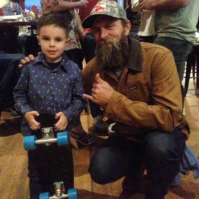 This kid enjoyed the Fisherman's Son premiere @fariassurfsport. If winning the raffle Bureo board to support @stwcoalition wasn't enough, he got to hang with @thetorpedopeople! Thanks for the support and hosting a great event @fariassurfsport !...
