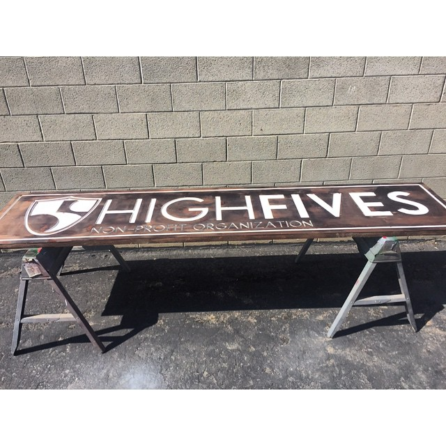 We were waiting for a sign and THIS is it! #HighFivesFoundation