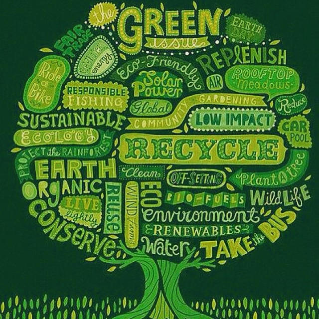 Happy #earthday! Let's keep it green and clean. #preserveandconserve #reducereuserecycle