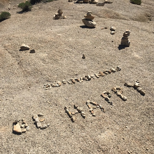 Don't Worry! Be Happy, #AdventureOften, and Leave It Better Than You Found It!  #EarthDay #GoodPeopleLife #GoBigDoGood #joshuatree #findyourpark #nationalparkweek #camptrends #campvibes #exploremore #radparks