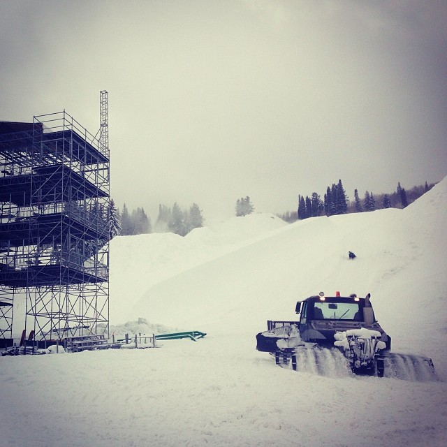Friday in Aspen. Counting down to #xgames