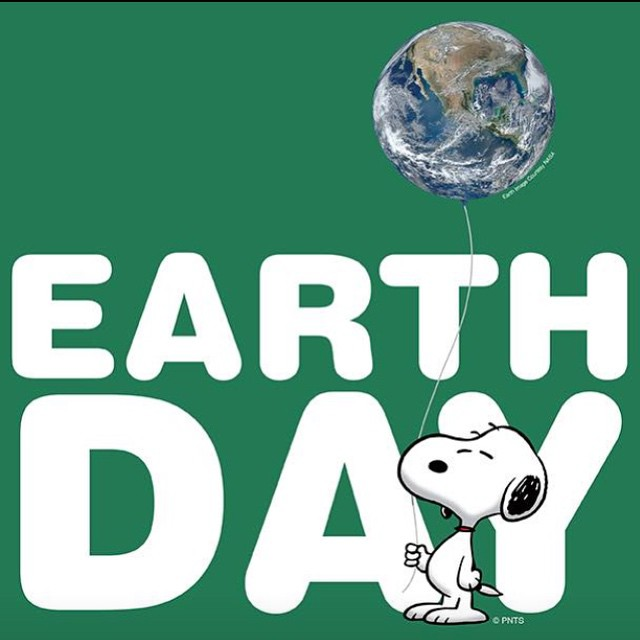 Happy Earth Day Everyone! #localhoneydesigns #earthday #celebrate #motherearth #ocean #nature #pickupyourtrash #cleanbeaches #recycle #conservation #awareness #recycle #reuse #snoopy #love