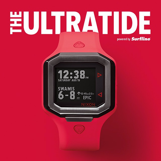 IT'S HERE!  Forever changing the landscape of how surf report information is delivered and challenging the status quo of what you've come to expect from a surf watch, @nixon_now introduces the #Ultratide powered by @Surfline. New and now available in...
