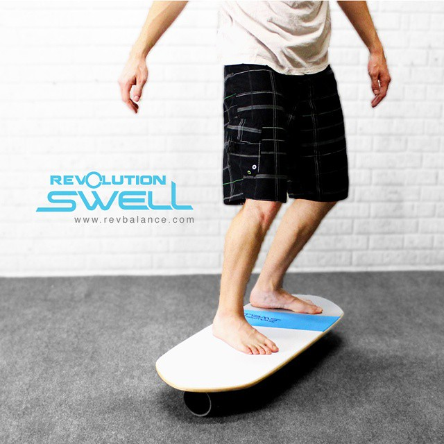 #revbalance #swell #balanceboard for all the #surfers and #boardriders out there!  #findyourbalance #balanceboards #madeinusa #progression #surfing #paddleboarding #sup #wakesurfing #windsurfing #wakeskating #wakeboarding #train #boardsports #ride