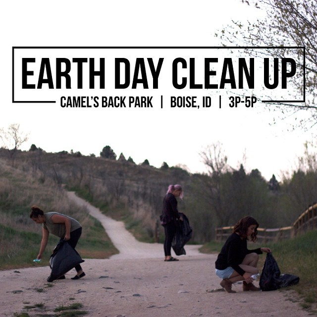 The Proof Team is headed to Camel's Back Park today from 3p-5p for our 2nd Annual Earth Day Clean Up!  Volunteers can meet in the main parking lot at 3pm where we will disperse trash bags & clean up routes. See you there! #thisisboise #earthday