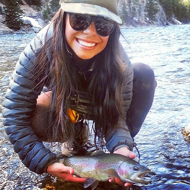 @angelrene used her REX to reel in a beauty #gonefishing