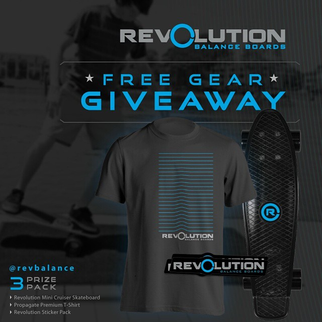 We'll be drawing our winner for our 3 Pack Revolution Giveaway next week! Be Sure to get your entries in! ----------------------------------------------- Win A FREE Revolution Gear Pack • Revolution Mini Cruiser Skateboard • Propagate Premium T-Shirt •...