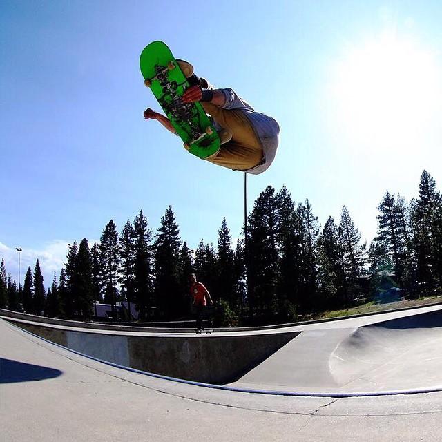 Incline village skate park @_swells_