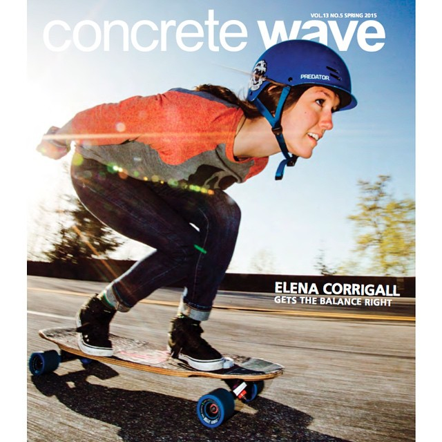 The current @idfracing Women World Champion and all-around amazing soul @e_coree takes over longboard media being beautifully featured in @skateslate with a rad video and taking the cover of @concretewavemag.  Go to longboardgirlscrew.com for the full...