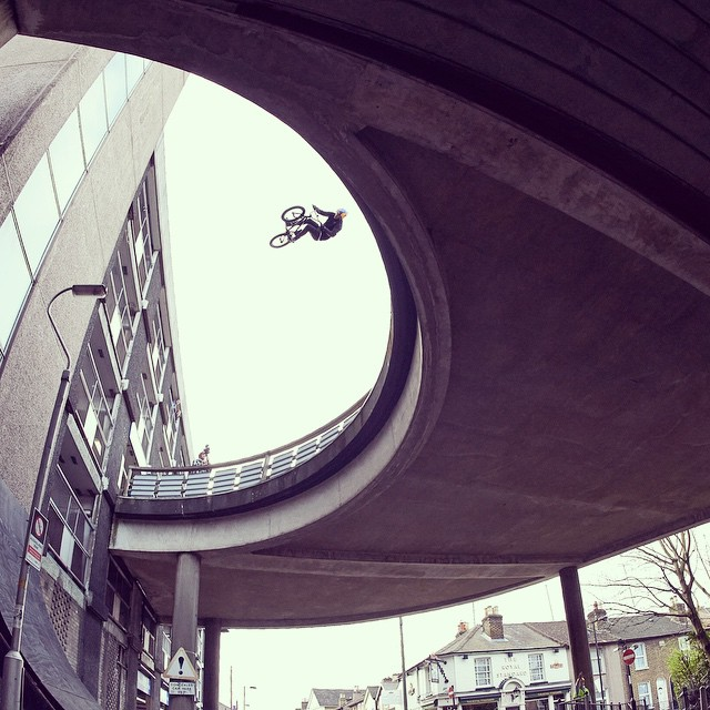 Any ideas?  Or is it just Baz Keep doing his thing... #BMX @sebastiankeep