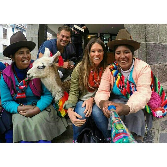 @florpitra con su #ZephyrPole en #Cusco #Peru !!