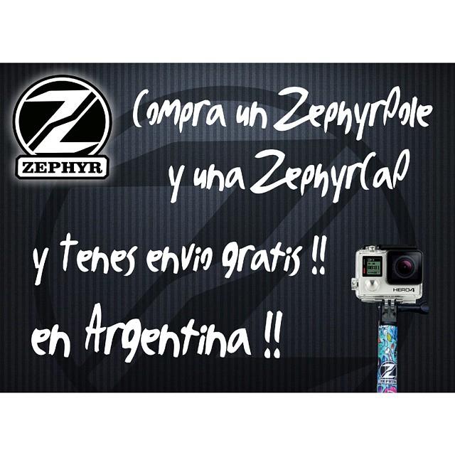 Pedinos el codigo para tener el ENVIO  GRATUITO ➡ info@zephyrgear.com.ar !!