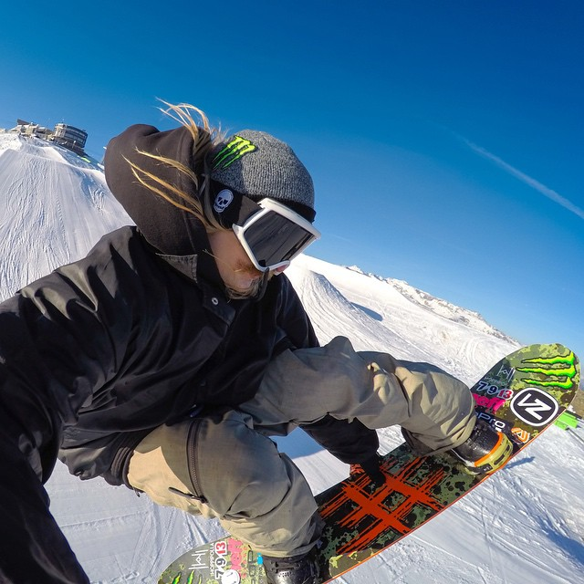"""So pumped to be here @snowparklaax for the GoPro Snow Athlete Summit! It's been so damn fun."" - @HalldorHelagesen #GoPro #GoProSnow  Our second photo of today's GoPro Snow Athlete Summit takeover."