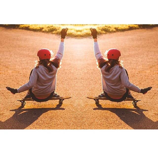 Sunset sessions are the best! Where are you skating today? @bon_nay #keepitholesom