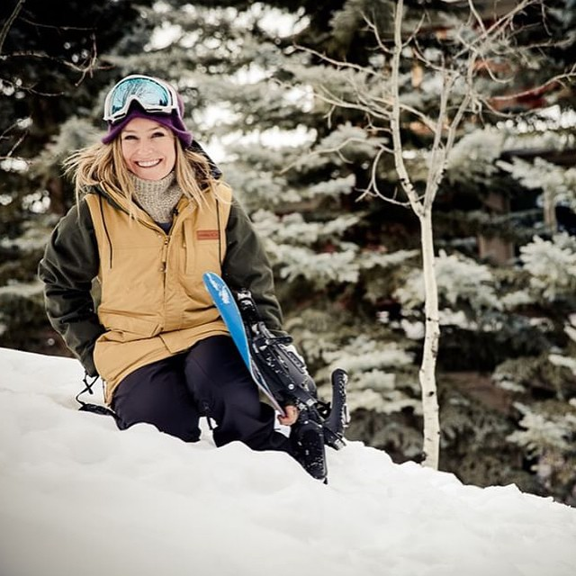 """The 24-year-old has been nearly unbeatable, claiming four X Games golds throughout her career. In 2014, she won two ESPYS, one for best female action sports athlete and one for best female U.S. Olympian."" Congrats to #TeamB4BC rider @jamieanderson for..."