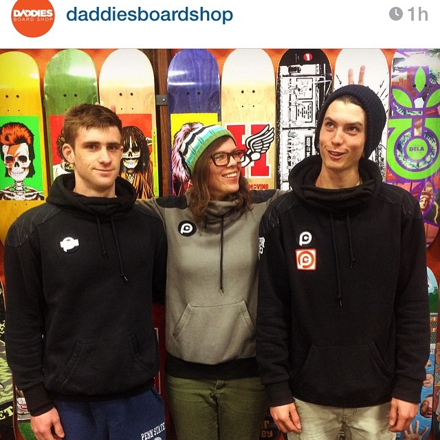 @daddiesboardshop has some of our #Pushculture riders under their care. Maryhill is beaconing them, how about you???