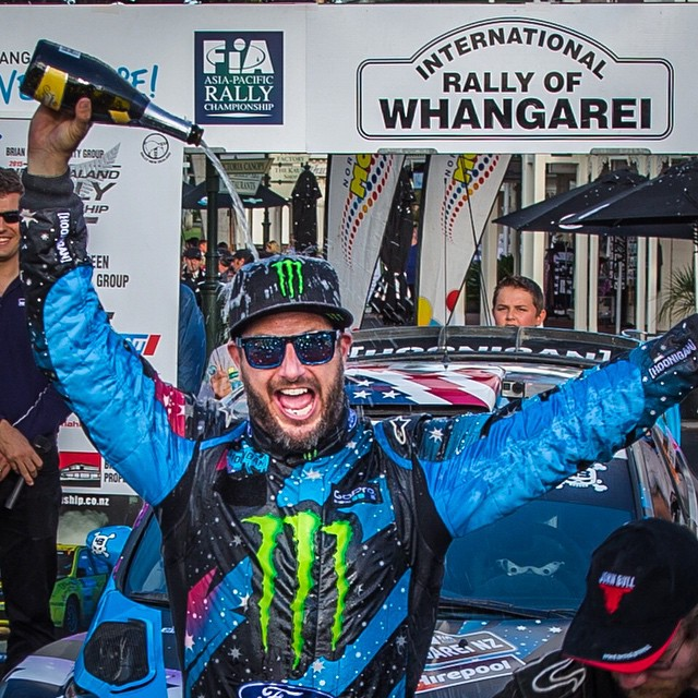 We're happy to celebrate @kblock43's #RallyWhangarei win with a comment contest!  Enter to win any sunglass with #HappyLens from our #KenBlock Series by liking and captioning this photo!  Winner chosen here on 4/25.  #SEEHAPPY