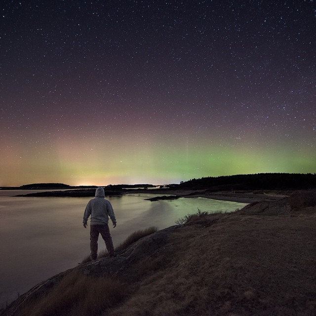 @jsecordphoto checkin' out the East Coast aurora! #getoutthere and have an #adventureworthy weekend! #northernlights
