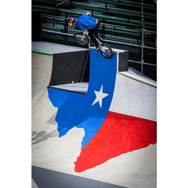 """Coming so close to #XGames gold last year definitely lit a fire in me.""-2014 BMX Park silver medalist @drewbezanson ("