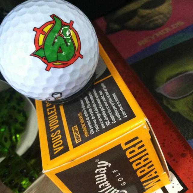 Worship x Callaway golf balls. #betheball
