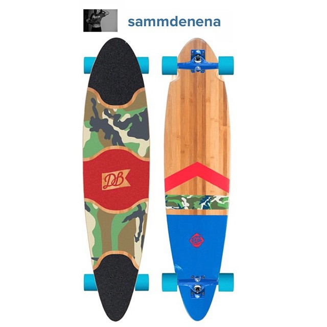 It is way too difficult to choose a winner for our custom longboard contest, so we decided to narrow it down to three boards chosen at random and let the photo with the most likes win the free board. This is one of the three options by @sammdenena. We...
