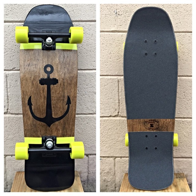 This sea-faring ripper is ready to cruise. Check it out on the site. #skate #handmade #handmadeskateboard #Nashville
