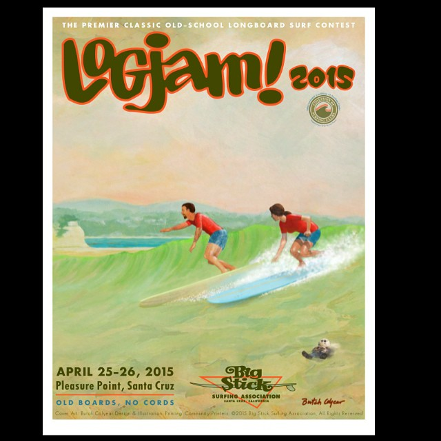 Old boards...no cords! Excited to be a part of the Logjam up in Santa Cruz this weekend, come hang if you are in the area! @urbanbarrels @ventanasurfboards @stwcoalition