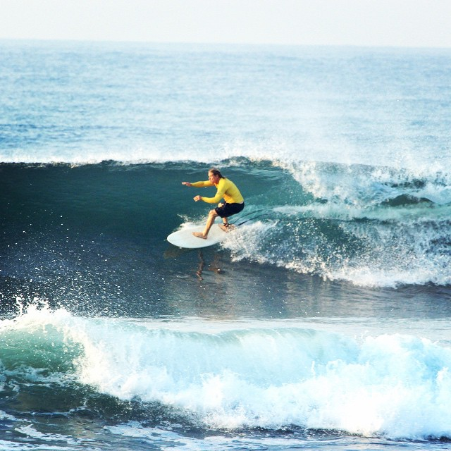 El salvador using #wavetribe equipment.