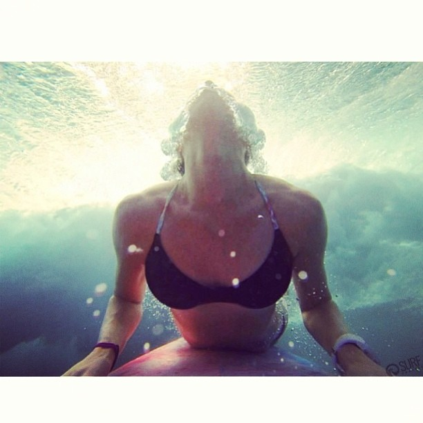 @shannonquirk #diving into the #week #hope everyone has a great #monday! #boho #surf #top @gopro in #hawaii #northshore @thesurfchannel #bikiniadventure