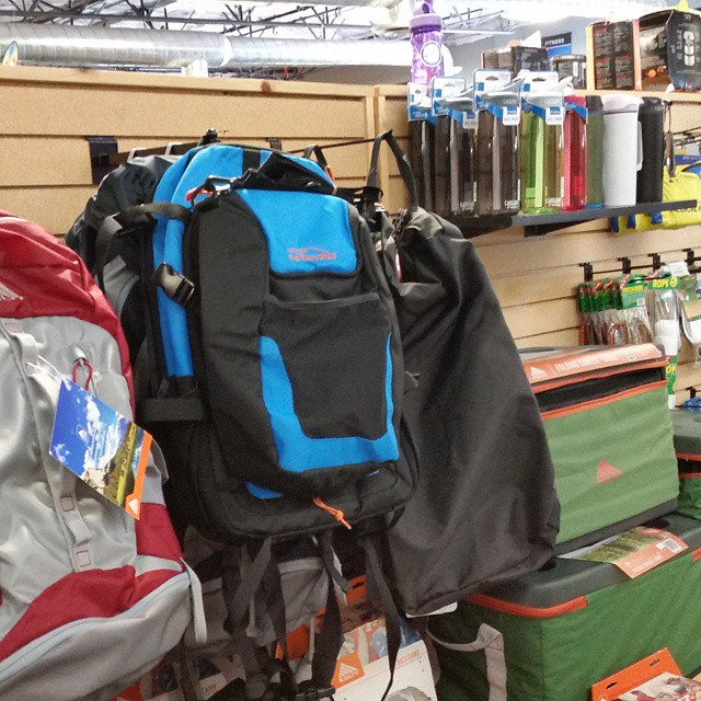 Our packs are now available in CV Sports!  #cvsports #carsonvalley #newstores #backpacks #coolers #graniterocx