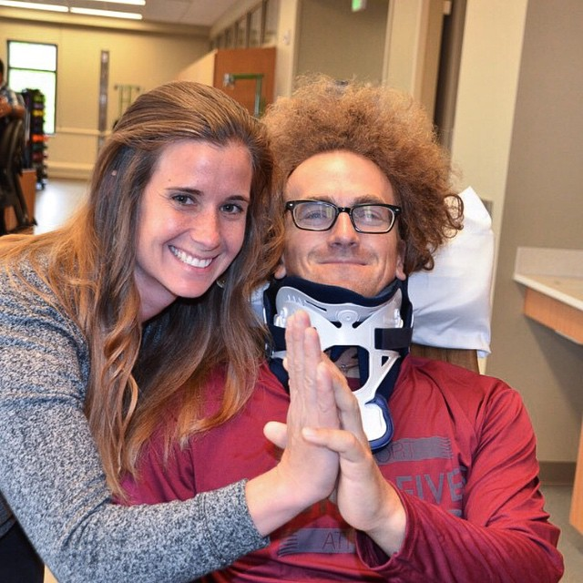 It is true, HIGH FIVES are powerful, @kabro921 & @elevatedimg are starting a big week of recovery at #CRAIGhospital this week, send them some love