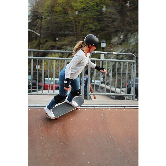 @skate.classy killin it in Hoboken today #GROnyc #ridetrue