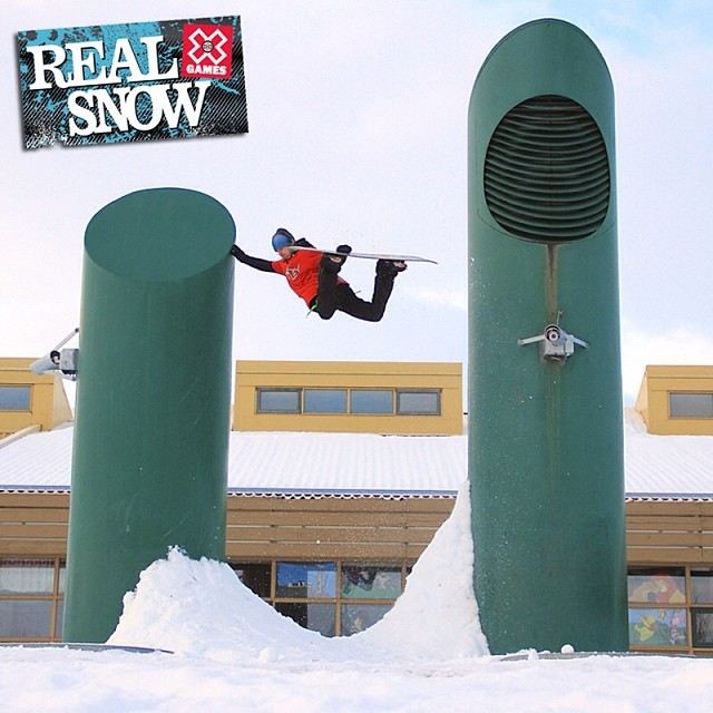 Have you voted for #realsnow ? -> Xgames.com/RealSnow  Photo: Petter Foshaug