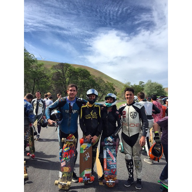 @predatorhelmets and @xshelmets team riders @kylewesterskate @spokywoky @cocomarii and @mikefitter were at the #maryhillratzfreeride this weekend having lots of fun! There were a lot of good runs to be had. See you at Catalina! #predatorhelmets...