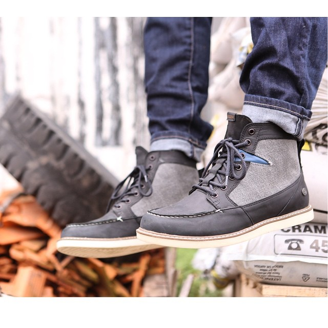 Berrington Black/Grey #invierno15 #VolcomFootwear #Volcom #AW15