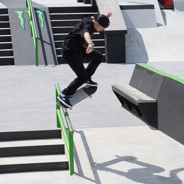 """""""I love skateboarding because the opportunities are endless.  You can constantly create and progress.""""-@shanejoneill#MondayMotivation ("""