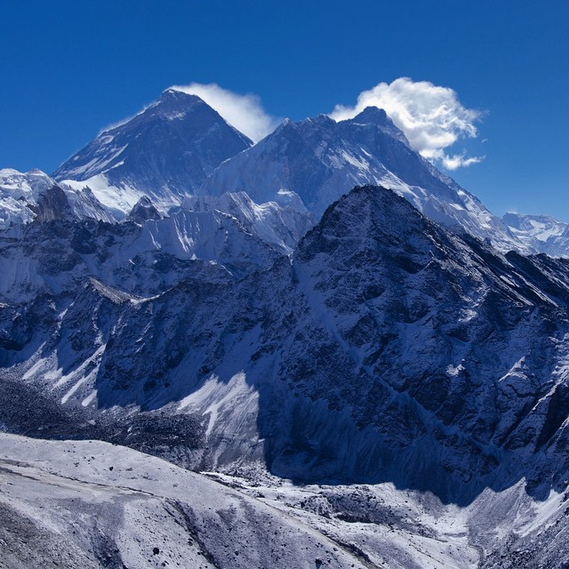 We're deeply saddened by the tragedy in Nepal, made closer by the fact that so many ASC adventurers have spent time in this beautiful country. Our hearts go out to them all.  Photo of Mount Everest and Lhotse by Franck Zecchin.