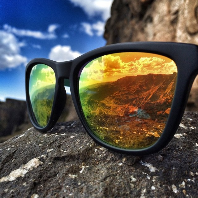 Overlooking the mountains through the lenses of North Shore! Tap the link in our bio to Create Your Own Triple Set today #