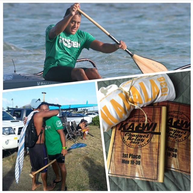A huge congrats to one of our newest Activists, Kekoa Kau. @k3koak competed in the Kaiwi Channel Relay yesterday and despite the unfavorable wind conditions, Kekoa got 1st place in his division and 4th place overall!