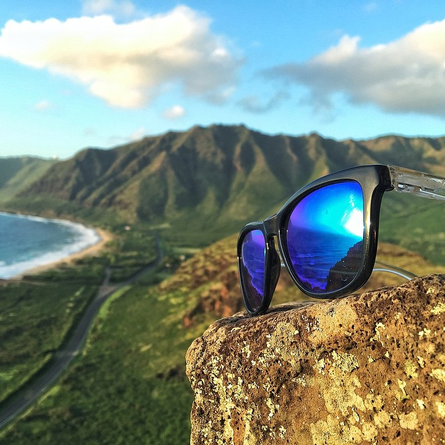 Enjoying the Surf in Hawaii! Tap the link in our bio to Create Your Own Triple Set today #