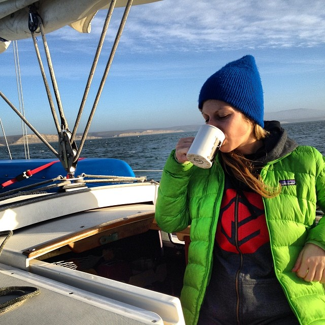 We got on the water this weekend and concluded that life's a little better when you're on a boat. Drake' Bay is not a bad spot for a morning coffee #boatdrinks #sailing #getoutdoors #thegoodlife #californiawinter #exploremore