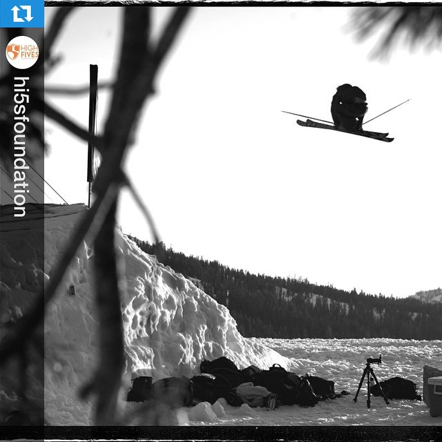"#Regram f/ @hi5sfoundation, ""9 years ago this was the last air #highfivesfounder @RoyTuscany landed (at a photo shoot at @sugarbowlresort). The next day, the #highfivesfoundation was created from his devastating crash at @mammothmountain."" Tomorrow, we..."