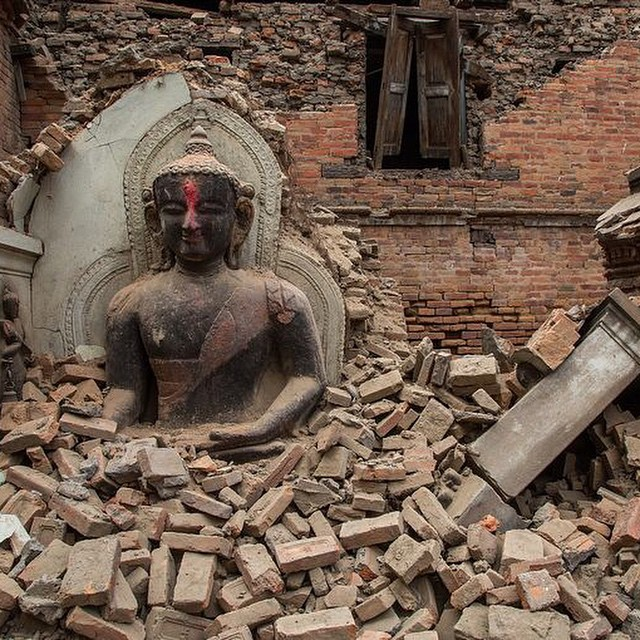 We are saddened by the disaster in Nepal and we are sending thoughts and prayers to everyone over there. It's hard not to feel super helpless, but with U.S. disaster relief teams expected to arrive in Nepal today following the 7.8-magnitude earthquake...
